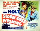 Storm Over Wyoming - Movie Poster (xs thumbnail)