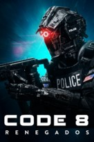 Code 8 - Brazilian Movie Cover (xs thumbnail)
