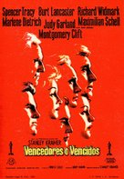 Judgment at Nuremberg - Spanish Movie Poster (xs thumbnail)
