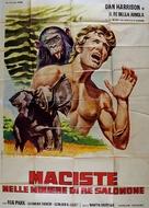 Maciste nelle miniere di re Salomone - Italian Movie Poster (xs thumbnail)
