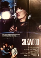 Silkwood - Swedish Movie Poster (xs thumbnail)