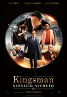 Kingsman: The Secret Service - Spanish Movie Poster (xs thumbnail)