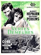 Green Mansions - French Movie Poster (xs thumbnail)
