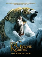 The Golden Compass - Danish Movie Poster (xs thumbnail)