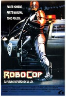 RoboCop - Spanish Movie Poster (xs thumbnail)