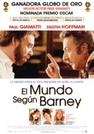 Barney's Version - Uruguayan Movie Poster (xs thumbnail)