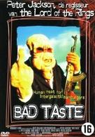 Bad Taste - Dutch DVD movie cover (xs thumbnail)