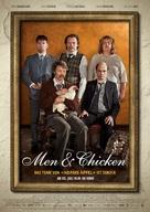 Mænd & høns - German Movie Poster (xs thumbnail)