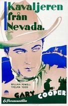 Nevada - Swedish Movie Poster (xs thumbnail)