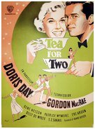 Tea for Two - Danish Movie Poster (xs thumbnail)