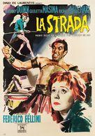 La strada - Italian Movie Poster (xs thumbnail)