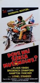 Mir hat es immer Spaß gemacht - Italian Movie Poster (xs thumbnail)