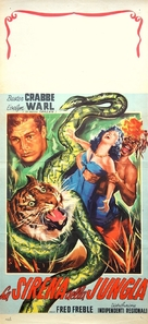Jungle Siren - Italian Movie Poster (xs thumbnail)