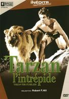 Tarzan the Fearless - French DVD cover (xs thumbnail)
