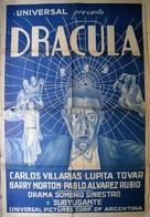 Dracula - Argentinian Movie Poster (xs thumbnail)