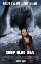 Deep Blue Sea - Movie Poster (xs thumbnail)
