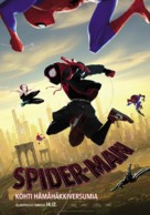 Spider-Man: Into the Spider-Verse - Finnish Movie Poster (xs thumbnail)