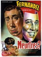 Meurtres - Belgian Movie Poster (xs thumbnail)