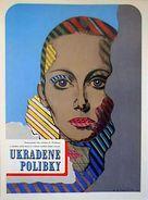 Baisers volés - Czech Movie Poster (xs thumbnail)