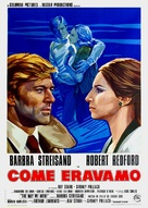 The Way We Were - Italian Movie Poster (xs thumbnail)
