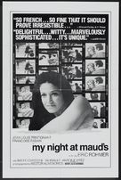 Ma nuit chez Maud - Movie Poster (xs thumbnail)