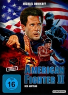 American Ninja 2: The Confrontation - German Movie Cover (xs thumbnail)