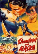 The World in His Arms - German Movie Poster (xs thumbnail)