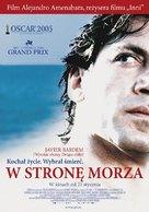 Mar adentro - Polish Movie Poster (xs thumbnail)