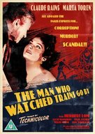 The Man Who Watched the Trains Go By - British Movie Cover (xs thumbnail)