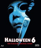 Halloween: The Curse of Michael Myers - Austrian Blu-Ray movie cover (xs thumbnail)