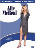 """Ally McBeal"" - German DVD movie cover (xs thumbnail)"