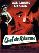 The Two-Headed Spy - French Movie Poster (xs thumbnail)