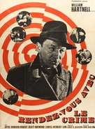 Appointment with Crime - French Movie Poster (xs thumbnail)