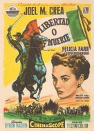 The First Texan - Spanish Movie Poster (xs thumbnail)