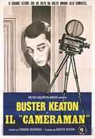 The Cameraman - Italian Movie Poster (xs thumbnail)