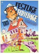 Les vacances de Monsieur Hulot - Danish Movie Poster (xs thumbnail)