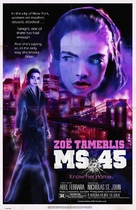 Ms. 45 - Re-release poster (xs thumbnail)