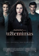The Twilight Saga: Eclipse - Lithuanian Movie Poster (xs thumbnail)