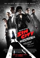 Sin City: A Dame to Kill For - Romanian Movie Poster (xs thumbnail)