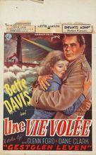 A Stolen Life - Belgian Movie Poster (xs thumbnail)
