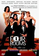 Four Rooms - German Movie Cover (xs thumbnail)