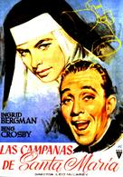 The Bells of St. Mary's - Spanish Movie Poster (xs thumbnail)