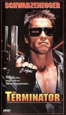 The Terminator - Finnish VHS cover (xs thumbnail)