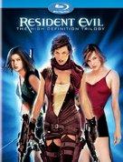Resident Evil - Blu-Ray movie cover (xs thumbnail)