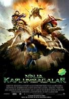 Teenage Mutant Ninja Turtles - Turkish Movie Poster (xs thumbnail)