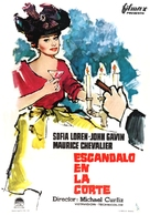 A Breath of Scandal - Spanish Movie Poster (xs thumbnail)