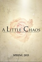 A Little Chaos - British Movie Poster (xs thumbnail)
