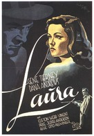 Laura - German Movie Poster (xs thumbnail)
