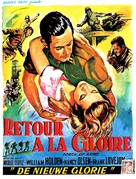 Force of Arms - Belgian Movie Poster (xs thumbnail)