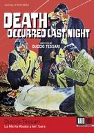 La morte risale a ieri sera - DVD cover (xs thumbnail)